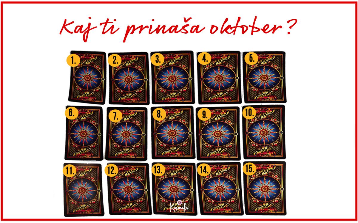 Tarot: Sporočilo za oktober