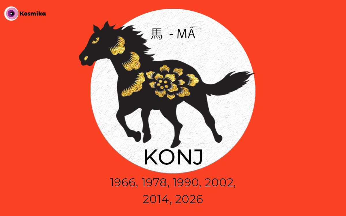 Kitajski horoskop: KONJ