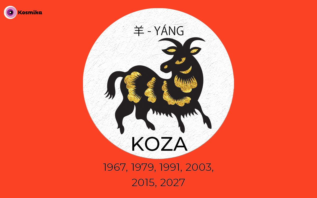 Kitajski horoskop: KOZA