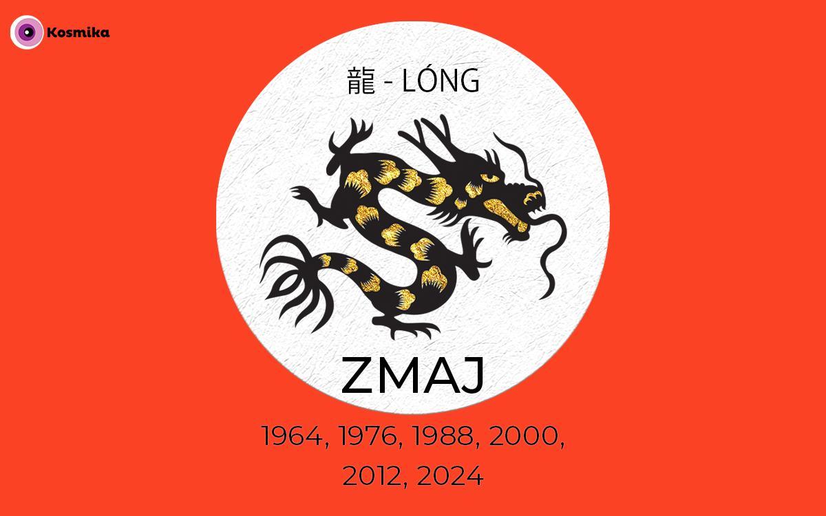 Kitajski horoskop: ZMAJ