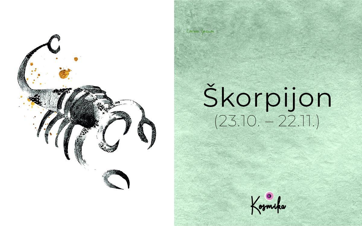 Vse, kar moraš vedeti o Škorpijonu