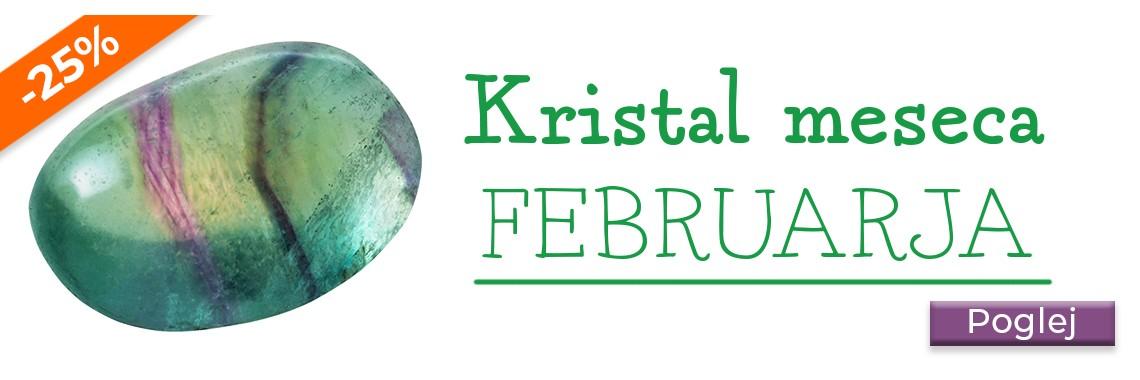 Kristal meseca februarja
