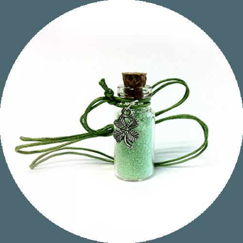 Amulet štiriperesna deteljica