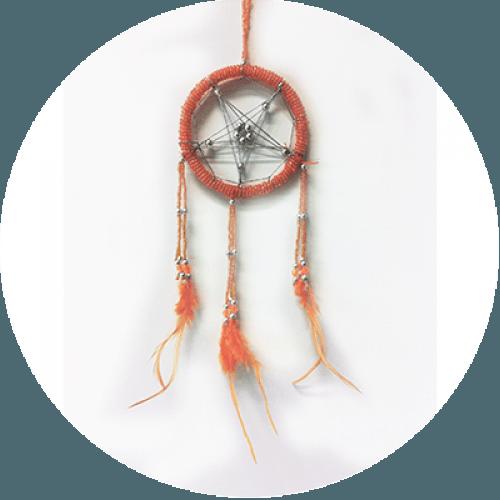 Lovilec sanj - Zvezda - oranžen