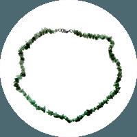 Ogrlica Aventurin - zeleni