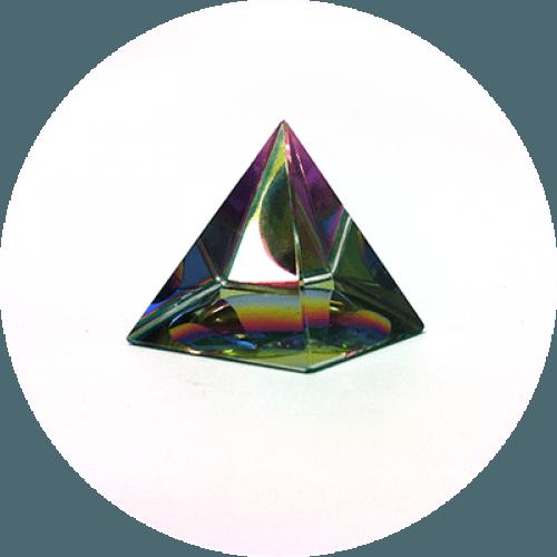 Feng shui piramida - Barvni spekter
