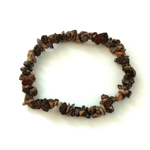 Zapestnica Leopard jaspis