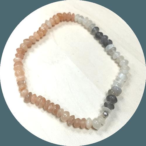 Zapestnica Barviti mesečev kamen