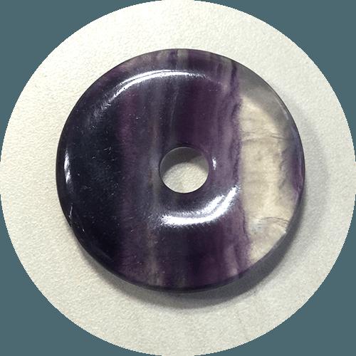 Obesek Fluorit – krog