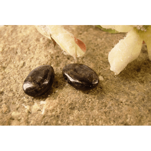 Obesek Zlati obsidian