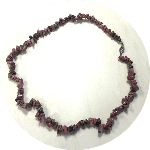 Ogrlica Rodonit
