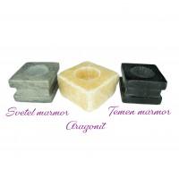 Svečnik (marmor, aragonit)