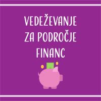 Kosmika vedeževanje za področje financ
