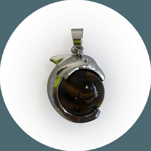 Obesek Delfin – Tigrovo oko