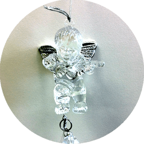 Vetrni zvončki angelček