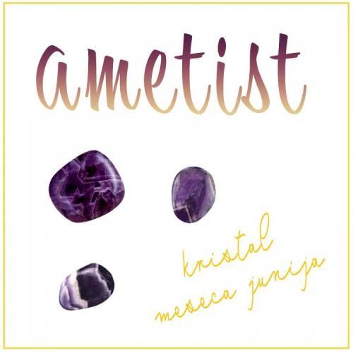 Podporni kristal za junij (ametist)