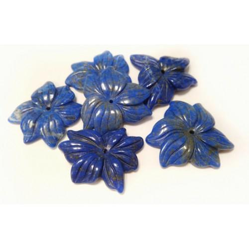 Obesek Rožica - lapis lazuli